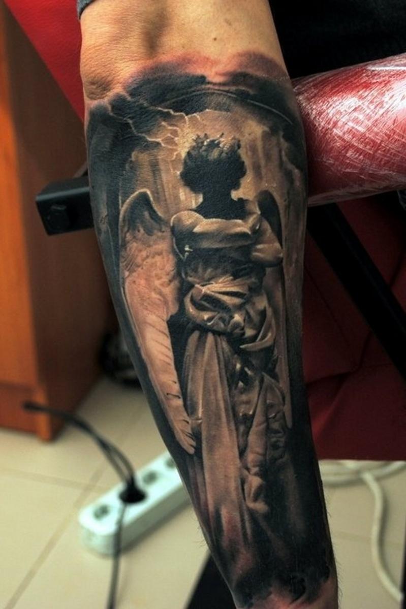Tatouage Anges Bras Tuer Auf