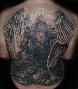 Tatouage Ange Mort Modeles Et Exemples