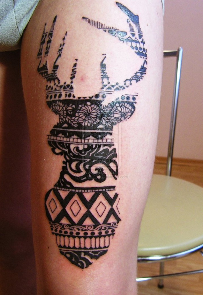 tatouage animaux celtique mod les et exemples. Black Bedroom Furniture Sets. Home Design Ideas