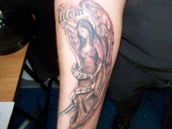Tatouage Ange Avant Bras Femme Tatouage