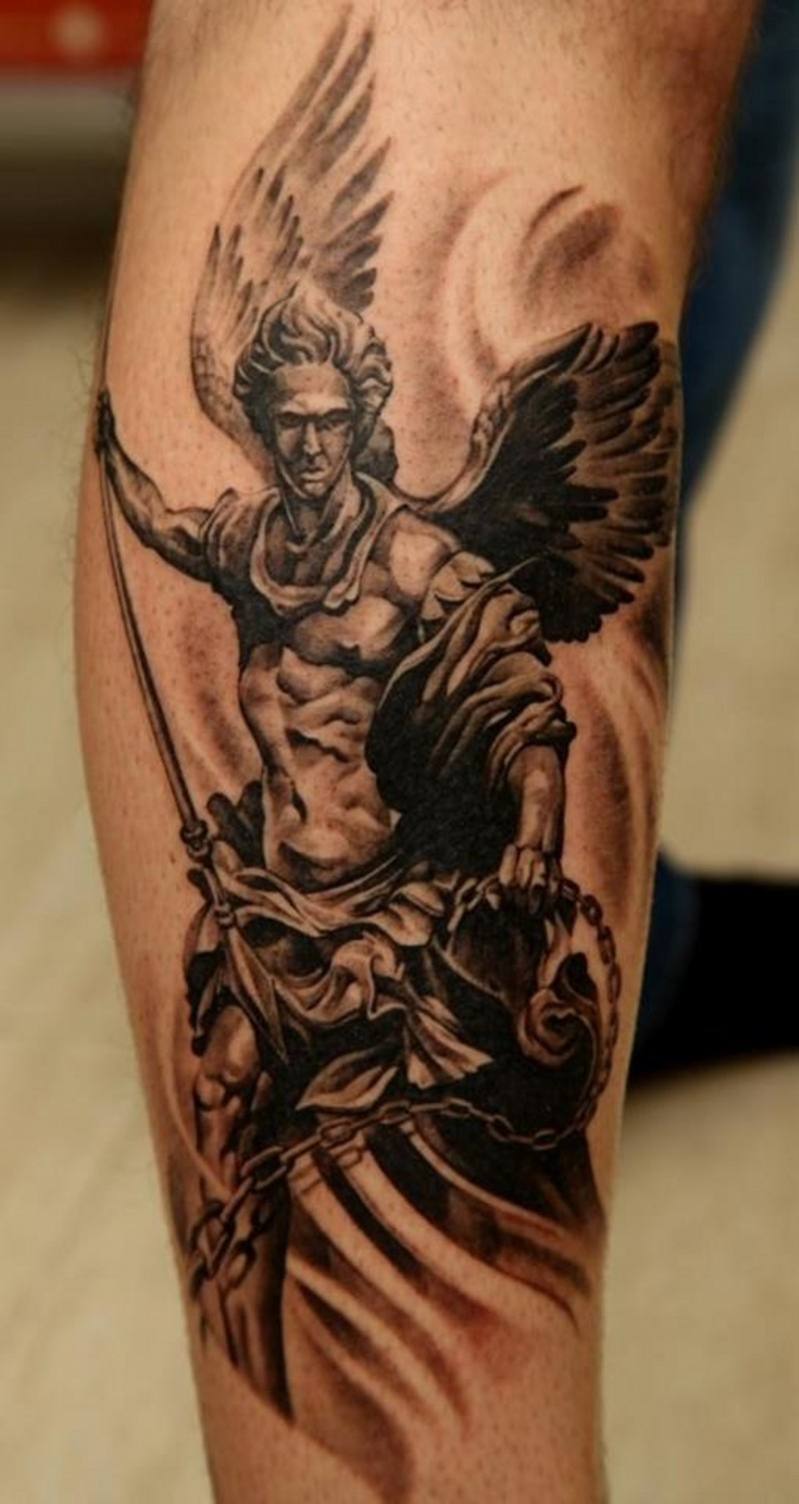 Tatouage Avant Bras Dieu Tuer Auf