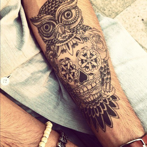 tatouage avant bras droit homme