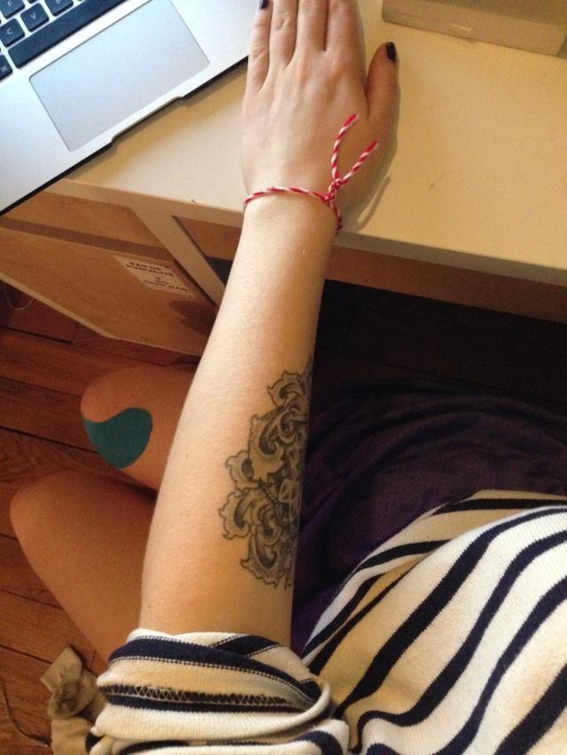 tatouage avant bras emploi mod les et exemples. Black Bedroom Furniture Sets. Home Design Ideas