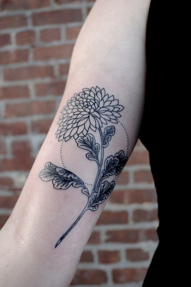 Tatouage avant bras femme fleur mod les et exemples - Tatouage avant bras femme modeles ...