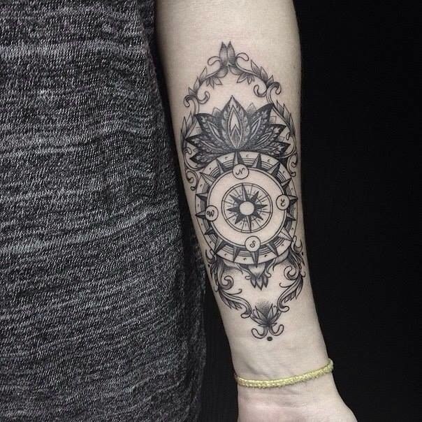 Tatouage avant bras femme fleur mod les et exemples - Tatouage fleur avant bras ...