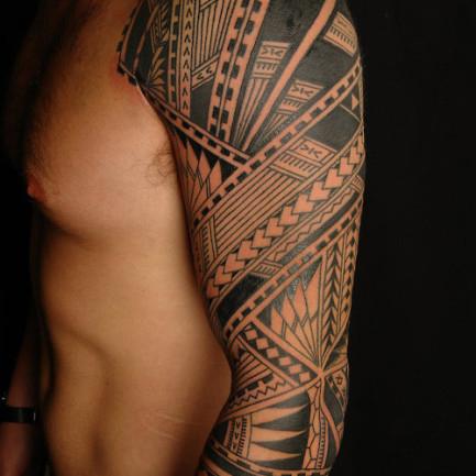 Tatouage avant bras homme celtique mod les et exemples - Tatouage homme bras complet ...