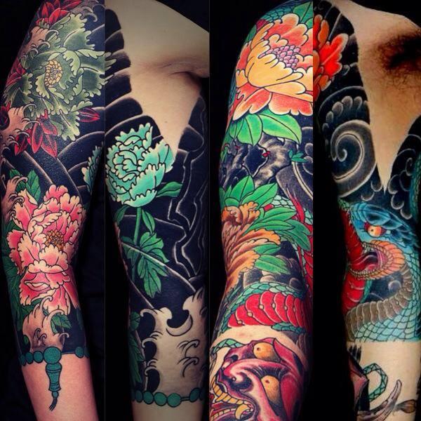 tatouage avant bras homme japonais mod les et exemples. Black Bedroom Furniture Sets. Home Design Ideas
