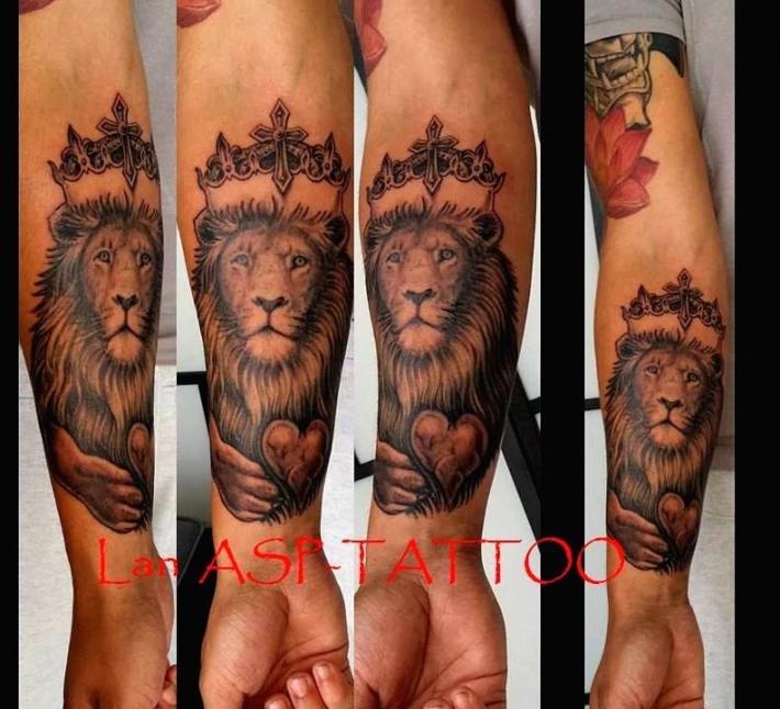 lion of judah rasta tattoo