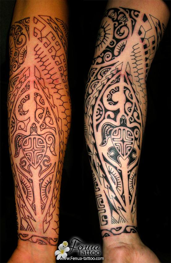 tatouage avant bras marquisien mod les et exemples. Black Bedroom Furniture Sets. Home Design Ideas