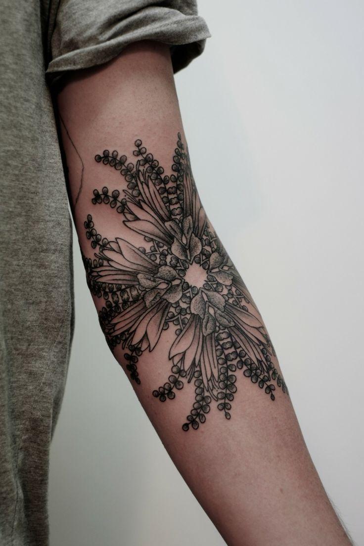 tatouage avant bras océane