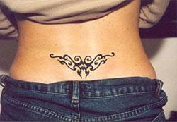 Tatouage bas du dos discret mod les et exemples - Les plus beaux tatouages femme ...