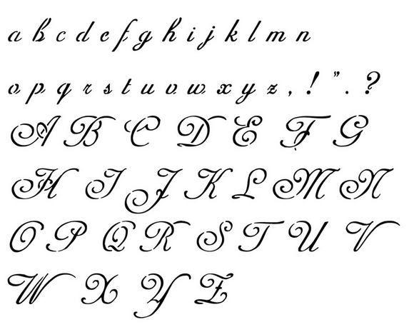 Tatouage Calligraphie Gothique Modeles Et Exemples