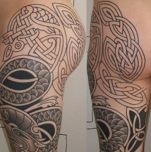 tatouage celtique avant bras mod les et exemples. Black Bedroom Furniture Sets. Home Design Ideas