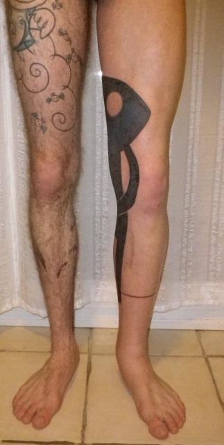 tatouage cheville pied gonflé