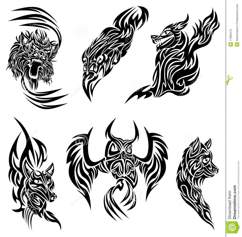 tatouage d 39 animaux sauvage mod les et exemples. Black Bedroom Furniture Sets. Home Design Ideas