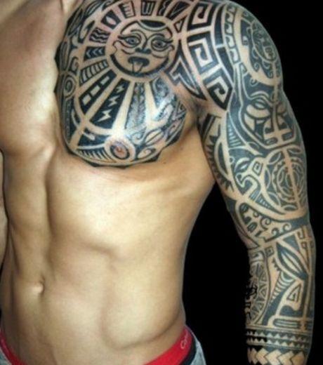 tatouage épaules homme