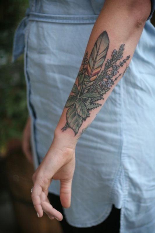 Tatouage fleur avant bras mod les et exemples - Tatouage fleur avant bras ...