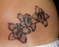 Tatouage Fleur De Vanille 3dliveproject