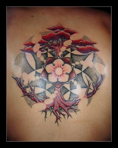 Tatouage Fleur De Vie Steadlane Club