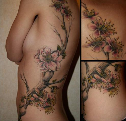 Tatouage Fleur Magnolia Tattoo Boutique
