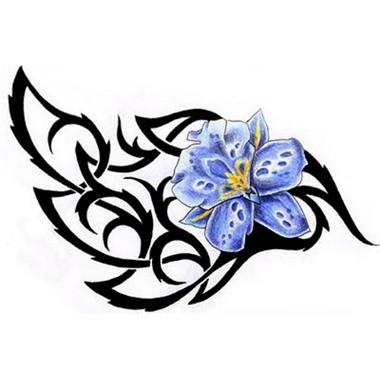 tatouage fleur symbole mod les et exemples. Black Bedroom Furniture Sets. Home Design Ideas