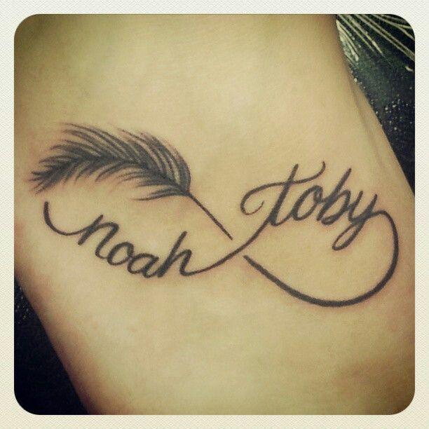 tatouage infini avec prenom