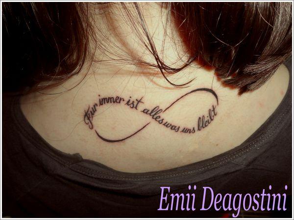 Tatouage infini maman mod les et exemples - Signe de l infini tatouage ...