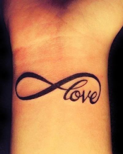 Tatouage infini poignet homme mod les et exemples - Signe de l infini tatouage ...
