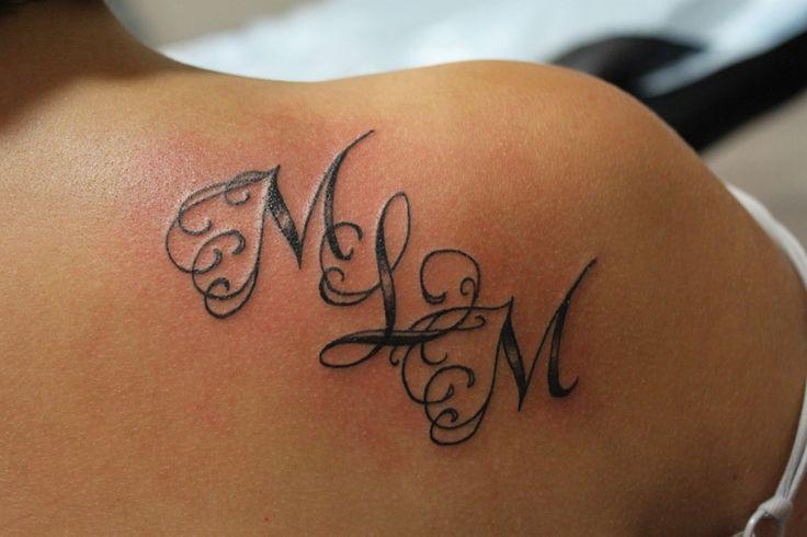 The 25 best Initial tattoos ideas on Pinterest  Spanish