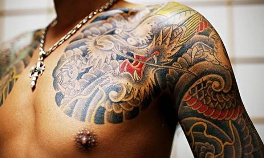 tatouage japonais homme