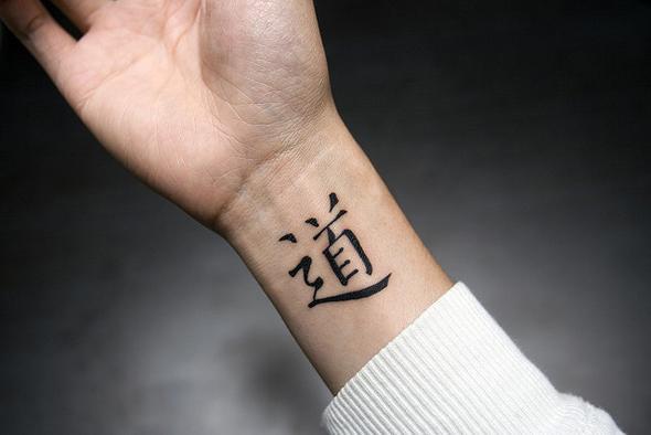 Tatouage japonais poignet mod les et exemples - Tatouage chinois homme ...