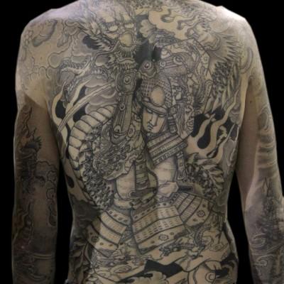Tatouage Japonais Samourai Modeles Et Exemples