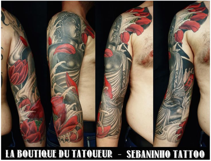 tatouage japonais sur le bras