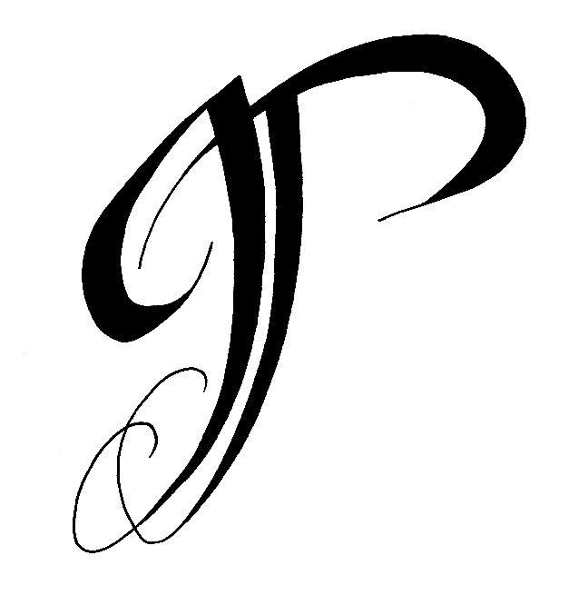 Tatouage lettre gothique j mod les et exemples - Tatouage lettre l ...