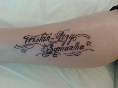 Tribal Tattoos X Tattoo Bras Homme Prenom