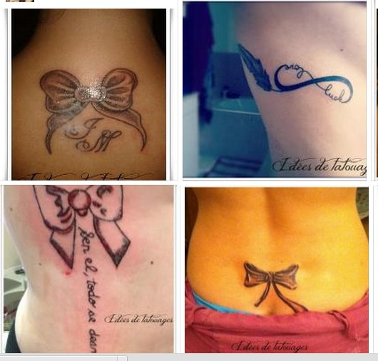 tatouage poignet noeud papillon. Black Bedroom Furniture Sets. Home Design Ideas
