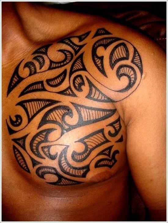 Infos sur tatouage tribal homme pectoraux arts et voyages - Tatouage homme tribal ...