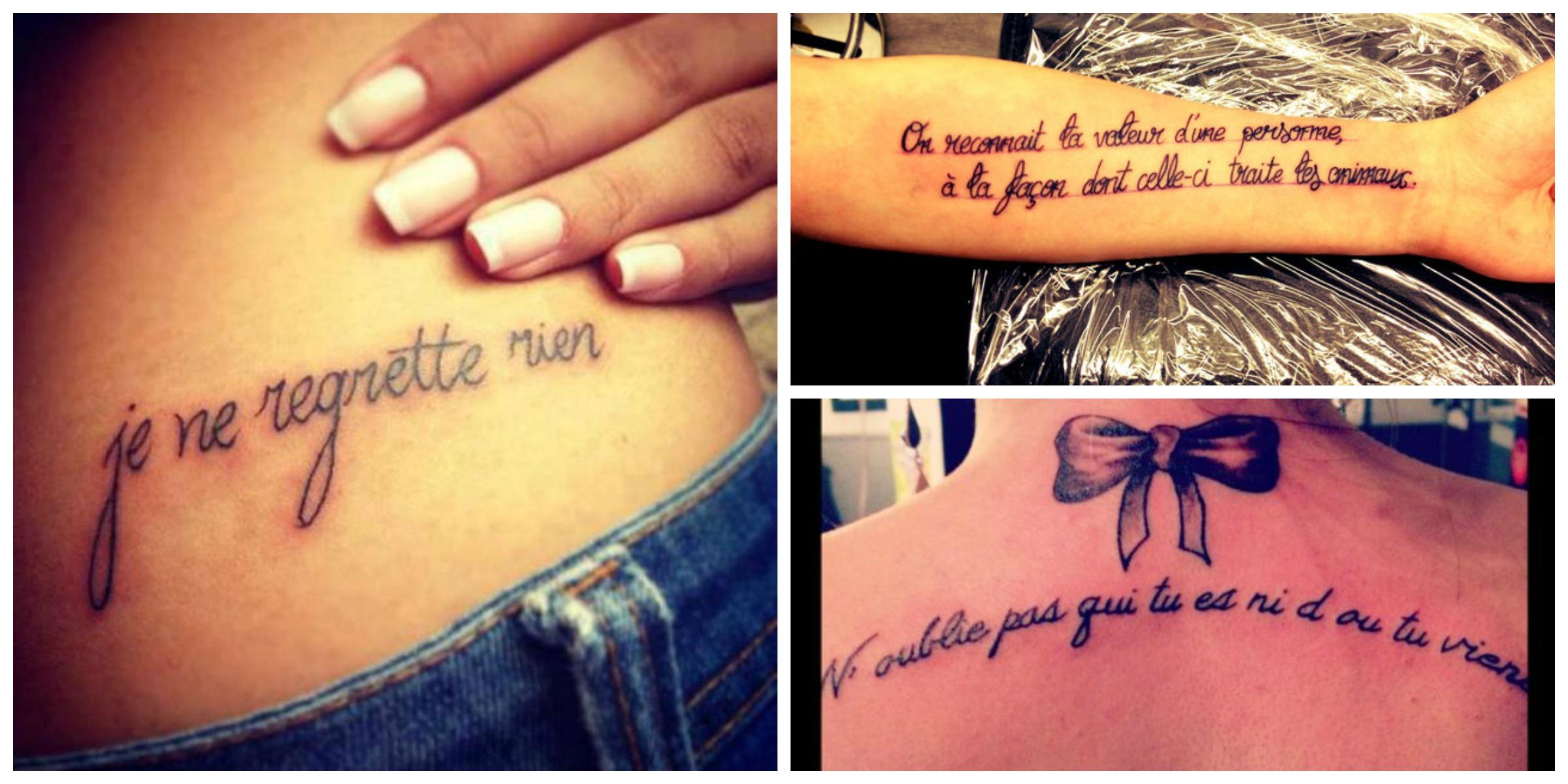 exemple de tatouage pour son enfant