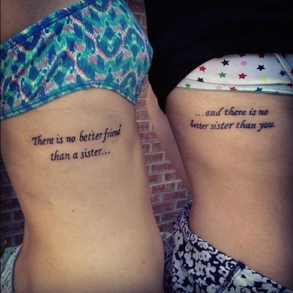 tatouage phrases famille