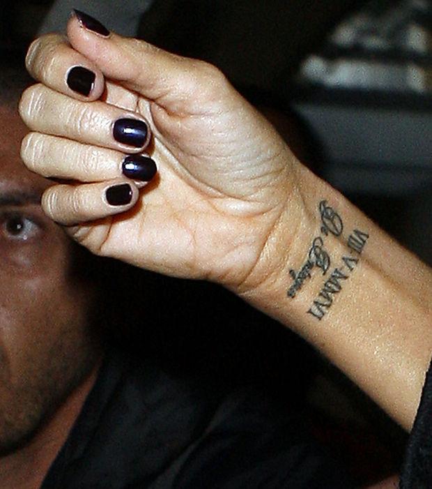 tatouage poignet homme chiffre romain