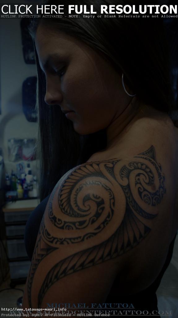Tatouage Polynesien Bras Femme Modeles Et Exemples