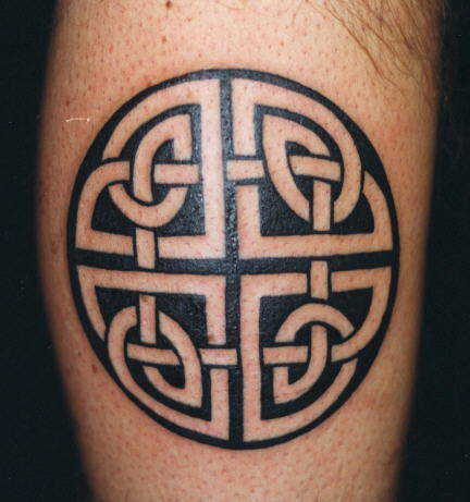 Tatouage style celtique