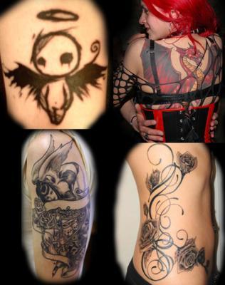 Tatouage Style Gothique Modeles Et Exemples