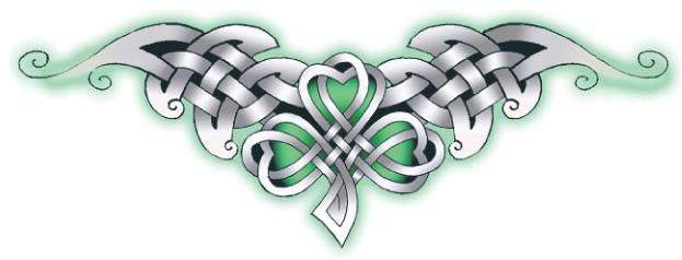trèfle irlandais symbole celtique