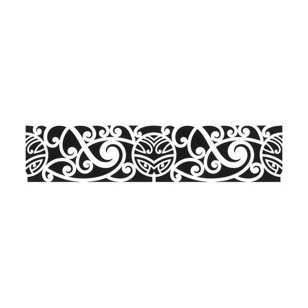 tatouage tribal bracelet mod les et exemples. Black Bedroom Furniture Sets. Home Design Ideas