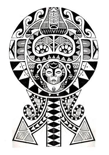 tatouage tribal famille mod les et exemples. Black Bedroom Furniture Sets. Home Design Ideas