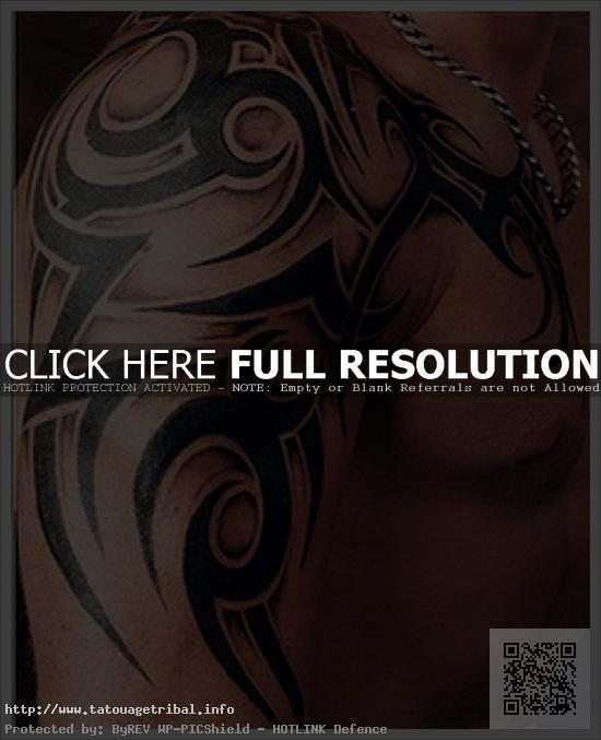Tatouage Tribal Homme Bras Epaule Pec Modeles Et Exemples