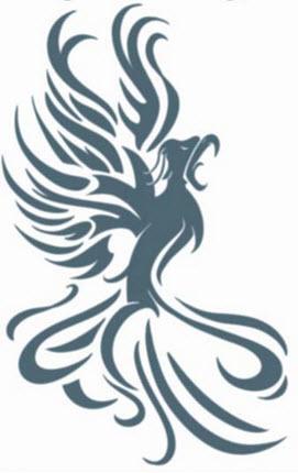 tatouage tribal phoenix mod les et exemples. Black Bedroom Furniture Sets. Home Design Ideas