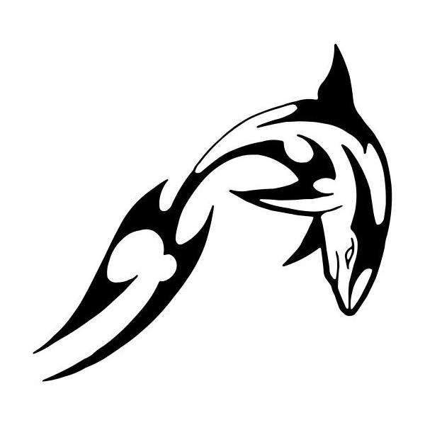 Tatouage tribal requin mod les et exemples - Modele dessin requin ...