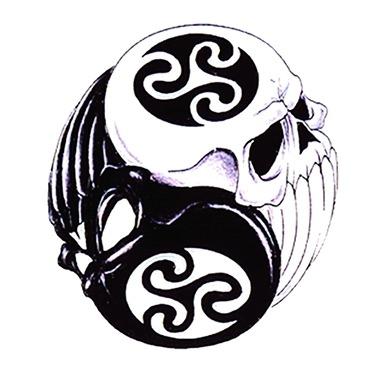 Tatouage Tribal Yin Yang Modeles Et Exemples